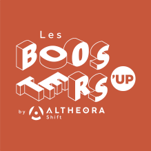Logo Booseters UP by altheora shift